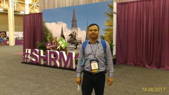 Lucky to be at SHRM Annual Conference 2017 at New Orleans, USA